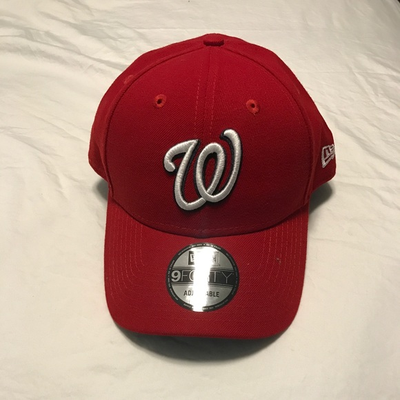 timeless design 18c9f a637b Washington Nationals New Era 9Forty Adjustable Hat.  M 5b0c6797caab44a33fde0d61. Other Accessories ...